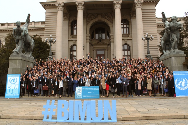 Belgrade International Model UN BIMUN 2019 new 20