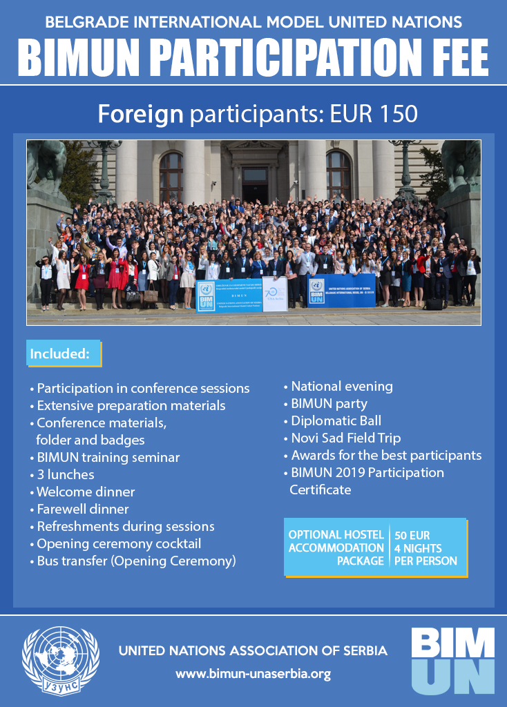 Participation fee - Foreign