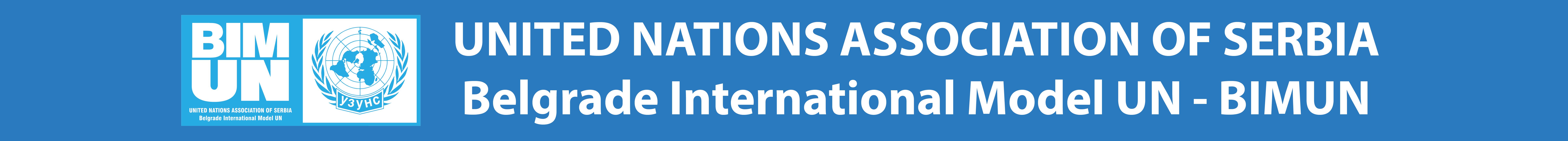 Belgrade International Model United Nations - BIMUN